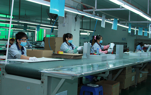 Packaging assembly line workshop