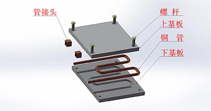 新能源锂电池水冷板FSW搅拌摩擦焊生产加工厂家
